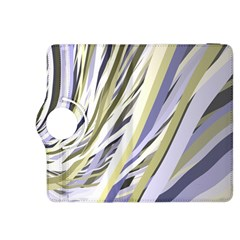 Wavy Ribbons Background Wallpaper Kindle Fire Hdx 8 9  Flip 360 Case by Nexatart