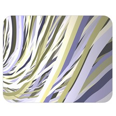 Wavy Ribbons Background Wallpaper Double Sided Flano Blanket (medium)  by Nexatart
