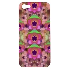 It Is Lotus In The Air Apple Iphone 5 Hardshell Case by pepitasart