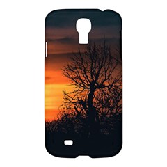 Sunset At Nature Landscape Samsung Galaxy S4 I9500/i9505 Hardshell Case by dflcprints