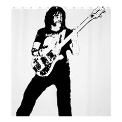 Lemmy   Shower Curtain 66  X 72  (large)  by Photozrus