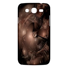 A Fractal Image In Shades Of Brown Samsung Galaxy Mega 5 8 I9152 Hardshell Case  by Nexatart