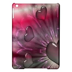 Love Hearth Background Wallpaper Ipad Air Hardshell Cases