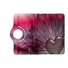 Love Hearth Background Wallpaper Kindle Fire Hd (2013) Flip 360 Case by Nexatart