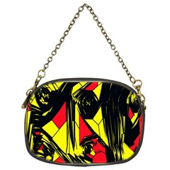 Easy Colors Abstract Pattern Chain Purses (two Sides)  by Nexatart