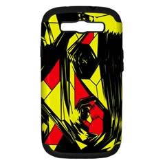 Easy Colors Abstract Pattern Samsung Galaxy S Iii Hardshell Case (pc+silicone) by Nexatart