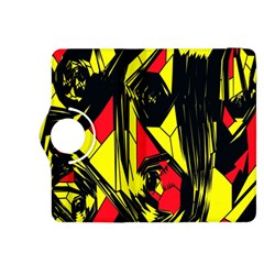 Easy Colors Abstract Pattern Kindle Fire Hdx 8 9  Flip 360 Case by Nexatart