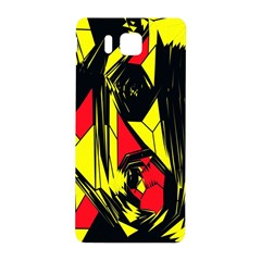Easy Colors Abstract Pattern Samsung Galaxy Alpha Hardshell Back Case by Nexatart