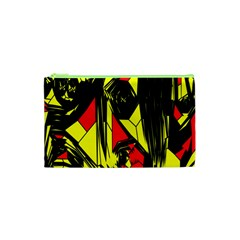 Easy Colors Abstract Pattern Cosmetic Bag (xs) by Nexatart