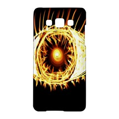 Flame Eye Burning Hot Eye Illustration Samsung Galaxy A5 Hardshell Case  by Nexatart