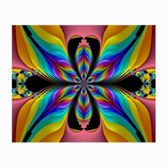 Fractal Butterfly Small Glasses Cloth by Nexatart