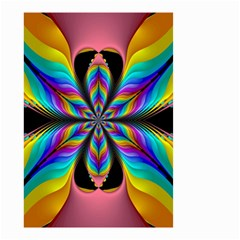 Fractal Butterfly Small Garden Flag (two Sides) by Nexatart