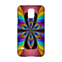 Fractal Butterfly Samsung Galaxy S5 Hardshell Case  by Nexatart