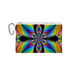 Fractal Butterfly Canvas Cosmetic Bag (s) by Nexatart