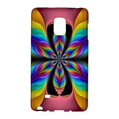 Fractal Butterfly Galaxy Note Edge