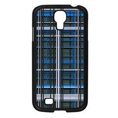 3d Effect Apartments Windows Background Samsung Galaxy S4 I9500/ I9505 Case (black) by Nexatart