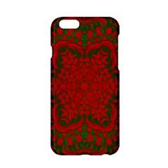 Christmas Kaleidoscope Apple Iphone 6/6s Hardshell Case by Nexatart