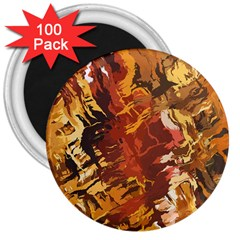 Abstraction Abstract Pattern 3  Magnets (100 Pack) by Nexatart