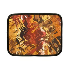 Abstraction Abstract Pattern Netbook Case (small)  by Nexatart