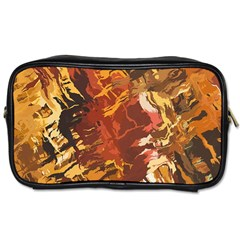Abstraction Abstract Pattern Toiletries Bags by Nexatart
