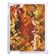 Abstraction Abstract Pattern Apple Ipad 2 Case (white) by Nexatart