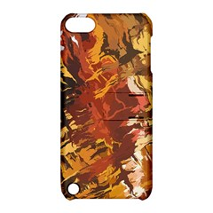 Abstraction Abstract Pattern Apple Ipod Touch 5 Hardshell Case With Stand by Nexatart