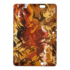 Abstraction Abstract Pattern Kindle Fire Hdx 8 9  Hardshell Case by Nexatart