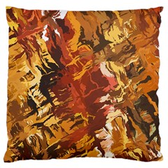 Abstraction Abstract Pattern Standard Flano Cushion Case (one Side) by Nexatart