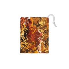 Abstraction Abstract Pattern Drawstring Pouches (XS)