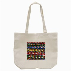 The Eye Of Osiris As Seen On Mediterranean Fishing Boats For Good Luck Tote Bag (cream) by Nexatart