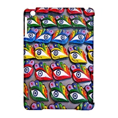 The Eye Of Osiris As Seen On Mediterranean Fishing Boats For Good Luck Apple Ipad Mini Hardshell Case (compatible With Smart Cover) by Nexatart