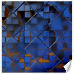 Glass Abstract Art Pattern Canvas 12  x 12
