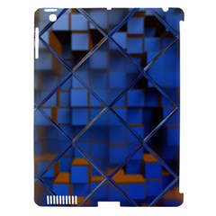 Glass Abstract Art Pattern Apple iPad 3/4 Hardshell Case (Compatible with Smart Cover)
