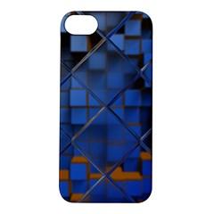 Glass Abstract Art Pattern Apple Iphone 5s/ Se Hardshell Case by Nexatart