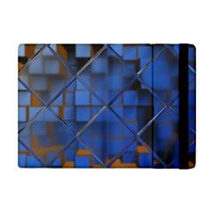 Glass Abstract Art Pattern Ipad Mini 2 Flip Cases by Nexatart