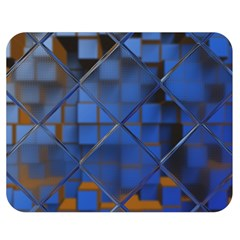 Glass Abstract Art Pattern Double Sided Flano Blanket (medium)  by Nexatart