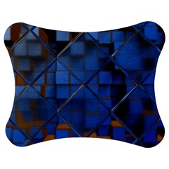 Glass Abstract Art Pattern Jigsaw Puzzle Photo Stand (bow) by Nexatart