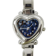 Background Abstract Art Pattern Heart Italian Charm Watch by Nexatart