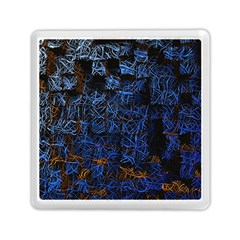 Background Abstract Art Pattern Memory Card Reader (square)  by Nexatart