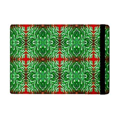 Geometric Seamless Pattern Digital Computer Graphic Ipad Mini 2 Flip Cases by Nexatart