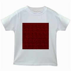 Bicycle Guitar Casual Car Red Kids White T-Shirts