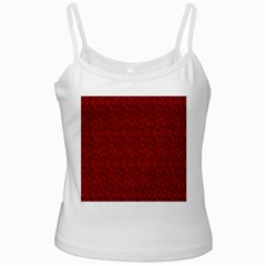 Bicycle Guitar Casual Car Red Ladies Camisoles by Mariart