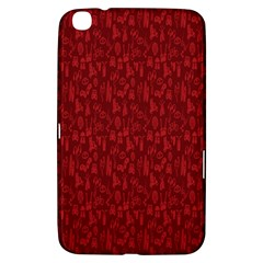 Bicycle Guitar Casual Car Red Samsung Galaxy Tab 3 (8 ) T3100 Hardshell Case  by Mariart