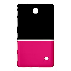 Black Pink Line White Samsung Galaxy Tab 4 (7 ) Hardshell Case  by Mariart