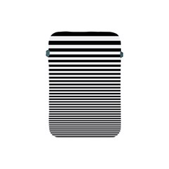 Black White Line Apple Ipad Mini Protective Soft Cases by Mariart