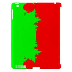 Critical Points Line Circle Red Green Apple Ipad 3/4 Hardshell Case (compatible With Smart Cover) by Mariart