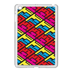 Color Red Yellow Blue Graffiti Apple Ipad Mini Case (white) by Mariart