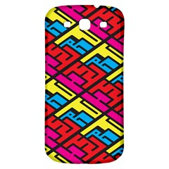 Color Red Yellow Blue Graffiti Samsung Galaxy S3 S Iii Classic Hardshell Back Case by Mariart