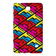 Color Red Yellow Blue Graffiti Samsung Galaxy Tab 4 (7 ) Hardshell Case  by Mariart