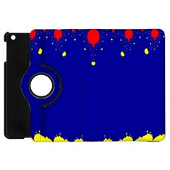 Critical Points Line Circle Red Blue Yellow Apple Ipad Mini Flip 360 Case by Mariart